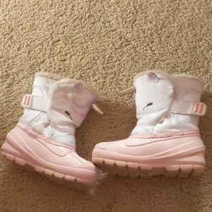 Unicorn Snow Boots